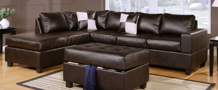 Cheap Deal on Espresso Leather Lounge Suites in Perth